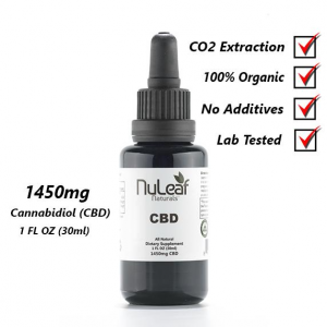 1450mg Full Spectrum CBD Oil, High Grade Hemp Extract 30ml (50mg/ml)