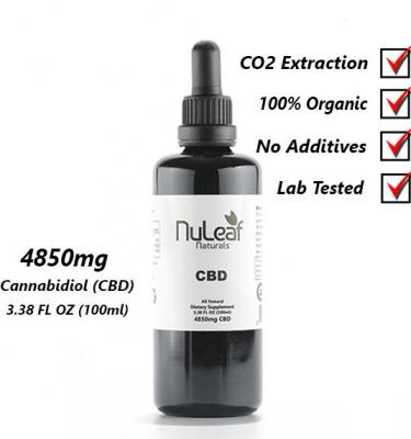 4850mg Full Spectrum CBD Oil, High Grade Hemp Extract 100ml (50mg/ml)