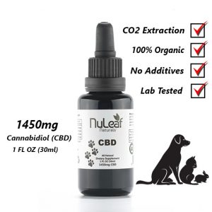 1450mg Full Spectrum CBD Oil, High Grade Hemp Extract 30ml For Pets (50mg/ml)